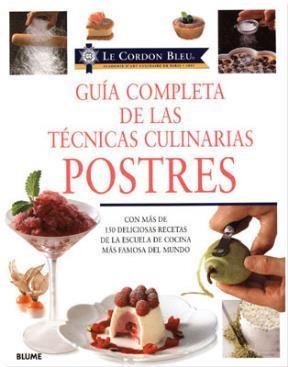 libro guia completa de las tecnicas culinarias postres