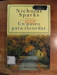 Un paseo para recordar - Nicholas Sparks Getcover