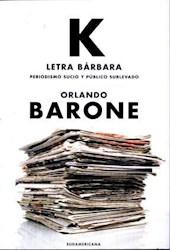 K. LETRA BARBARA