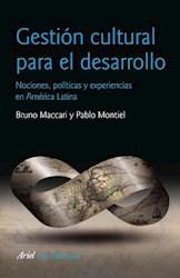 Libro GESTION CULTURAL PARA EL DESARROLLO