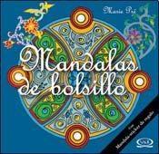 MANDALAS DE BOLSILLO AZUL CON STICKERS